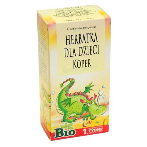 Herbata dla dzieci koper bio 20x1,5g apotheke Apotheke (herbatki dla dzieci, dorosłych, błonnik