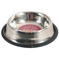 Zolux Miska Inox na gumie 30cm 1,8L [475489] (3336024754894)