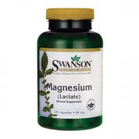 Swanson Mleczan magnezu 84mg - (120 kap) (0087614115252)