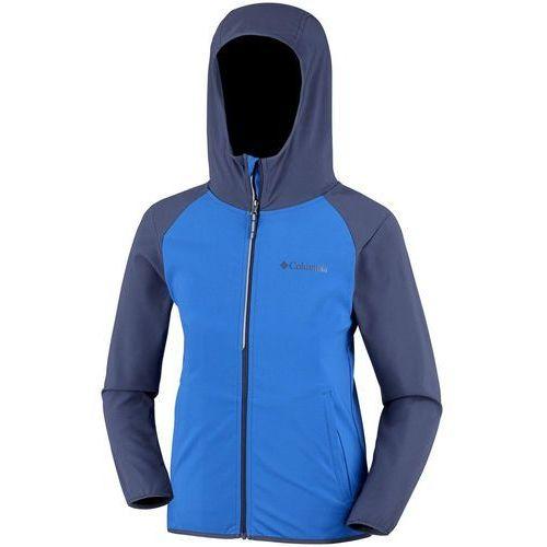 COLUMBIA bluza softshell chłopięca Heather Canyon 164 niebieska, kolor niebieski