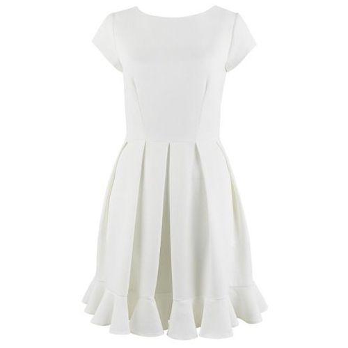 sukienka damska 42 kremowa marki Closet london
