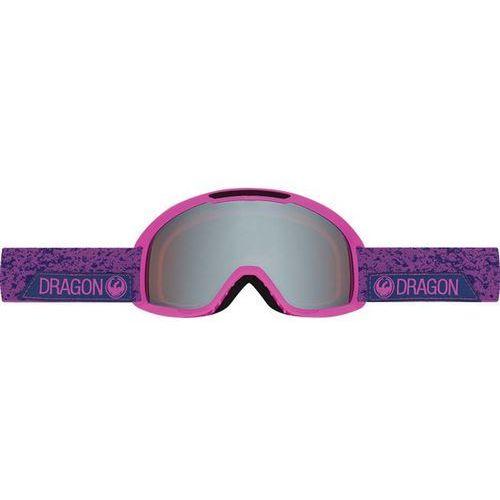 Gogle snowboardowe DRAGON - DX2 - Stone Violet/Ionized + Amber (831) rozmiar: OS