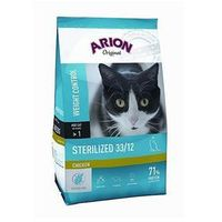 Arion original sterilized 33/12 chicken 7,5kg