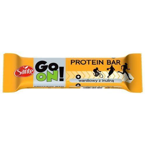 Baton proteinowy 20% białka Go On Waniliowy 50g,60