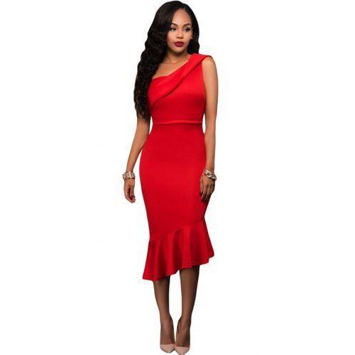 Sukienka Erin czerwony L, 1 rozmiar