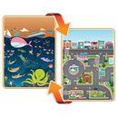 Mata dwustronna edukacyjna do zabawy  ocean city  ocean miasto  marki Prince lionheart  Mata