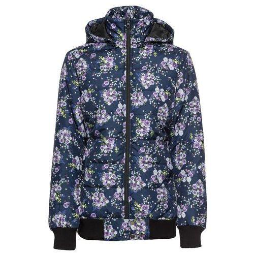 8ceacfc85e4cd Zobacz ofertę Kurtka bonprix ciemnoniebieski w kwiaty, w 7 rozmiarach