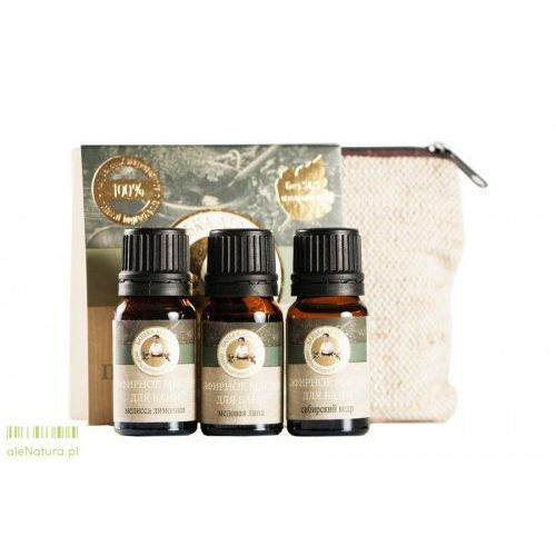 Agafia - zestaw olejków przeciw przeziębieniu 3x10 ml Babcia agafia