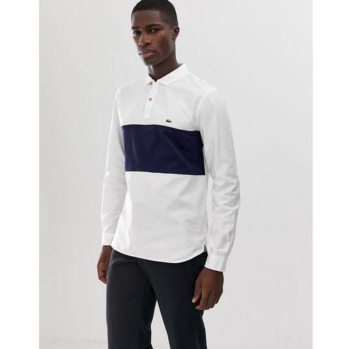 4f09327a1 Zobacz w sklepie Lacoste overhead half button shirt in white - White, w 5  rozmiarach