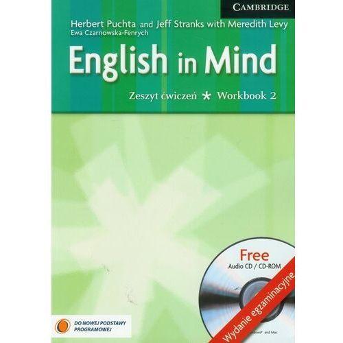 English in mind 2 Workbook + Cd wydanie egzaminacyjne (144 str.)
