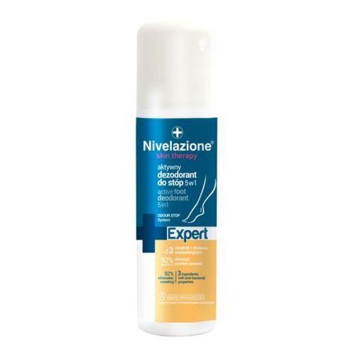 Ideepharm Nivelazione Expert aktywny dezodorant do stóp 5 w 1 w sprayu (Odour Stop System) 150 ml - Promocyjna cena