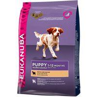 puppy&junior lamb&rice all breeds 12kg - 12000 marki Eukanuba