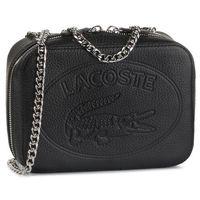 Torebka LACOSTE - Crossover Bag NF2970NL Black 000