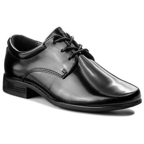 Półbuty OTTIMO - CYL6039-4 Czarny, kolor czarny