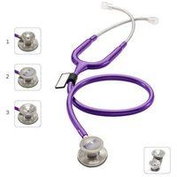 Mdf Stetoskop md one epoch 777dt z tytanu z głowicą 4w1 - purpurowy