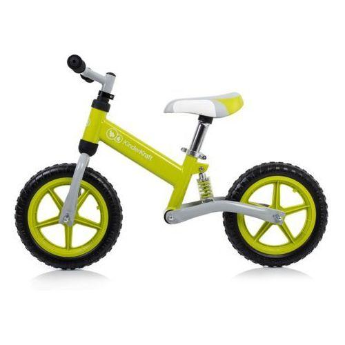 Kinderkraft Rowerek biegowy evo green - czarny