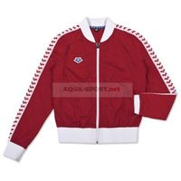 ARENA BLUZA ROZPINANA WOMAN RELAX IV TEAM JACKET ICONS RED-WHITE-RED, KOLOR: RED, ROZMIAR: S