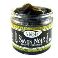 ALEPIA Mydło Czarne peelingujące Savon Noir 200ml