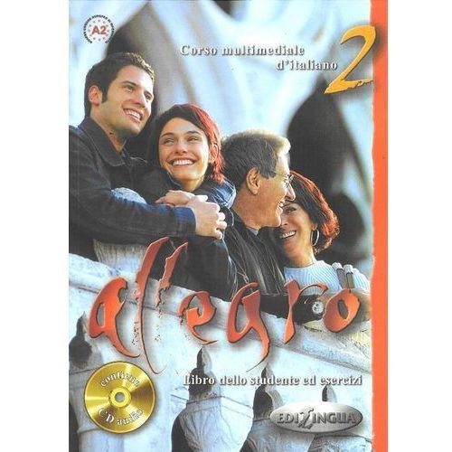 Allegro 2 Libro dello studente ed esercizi+Cd (9789606632143)