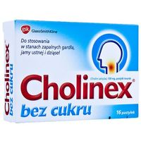 Cholinex bez cukru x 16 pastylek (5909990875023)