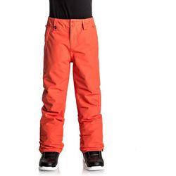 Quiksilver ESTATE YOUTH Spodnie narciarskie mandarin red
