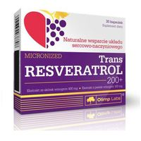 Kapsułki Olimp Trans Resveratrol 200+ 30 kaps.