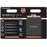 4 x akumulatorki Panasonic Eneloop PRO R03 AAA 930mAh BK-4HCDEC4BE (blister + box), BK-4HCDEC4BE