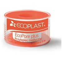 Ecoplast przylepiec opatrunkowy włókninowy ecopore plus na szpuli 2,5cm x 5m marki Alida sp. z o.o.