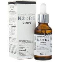 Laventi Witamina K2 + D3 Drops 30ml krople - suplement diety (5906660163046)