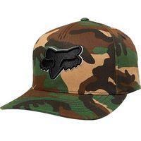 czapka z daszkiem FOX - Epicycle Flexfit Hat Green Camo (031) rozmiar: S/M