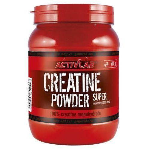 Activlab creatine powder - 500g - cherry