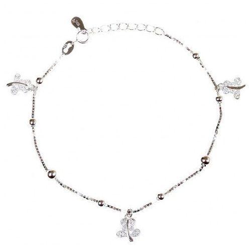 1d2840c177eac0 Biżuteria damska ze srebra bransoletka srebrna sb.039.01 marki Saxo