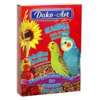 DAKO-ART Majka Fructo - Pełnowartościowy pokarm z owocami dla małych papug 500g