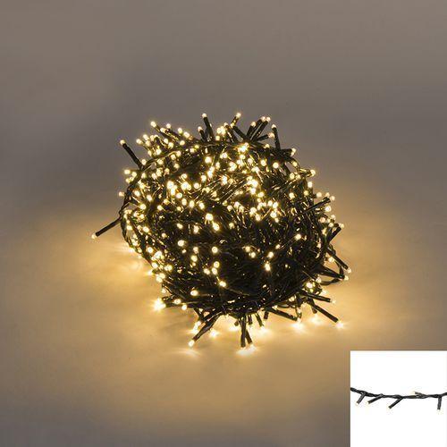Oswietlenie swiateczne lancuch swietlny 750 LED barwa cieplo biala 16 m