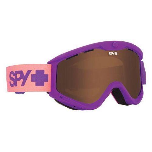 Spy t3 purple fade - gogle narciarskie/snowboard Spy