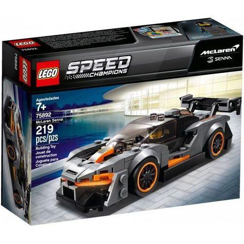 75892 MCLAREN SENNA KLOCKI LEGO SPEED CHAMPIONS