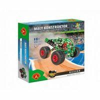 Alexander Zestaw konstrukcyjny Mały Konstruktor Monster Truck - Buzzer