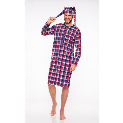 Piżama męska big ben 550 szary/melanż, M-max