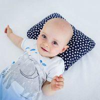 Poduszka ortopedyczna dla niemowląt pa-vm-09 na syndrom płaskiej głowy marki 4kids