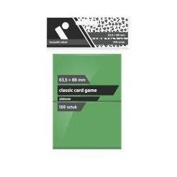 Koszulki CCG zielone 63,5x88 (100sztuk) REBEL