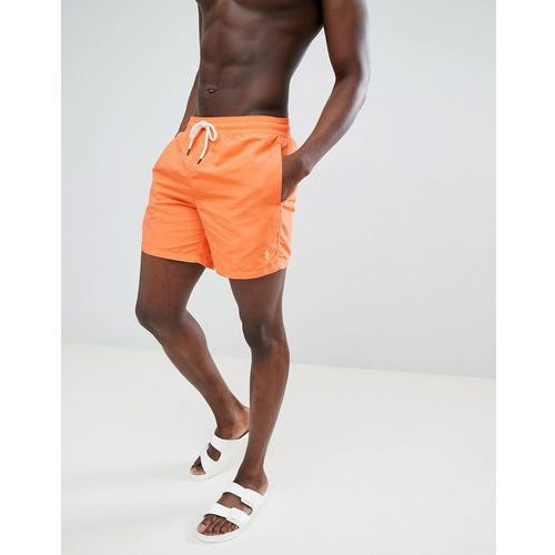 f0e00054c5f81e traveller swim shorts player logo in bright orange - orange marki Polo  ralph lauren