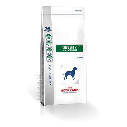 Veterinary diet canine obesity management dp34 2x6kg Royal canin