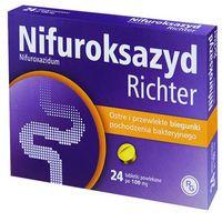 NIFUROKSAZYD Richter 100 mg 24 tabletki (5909990110919)