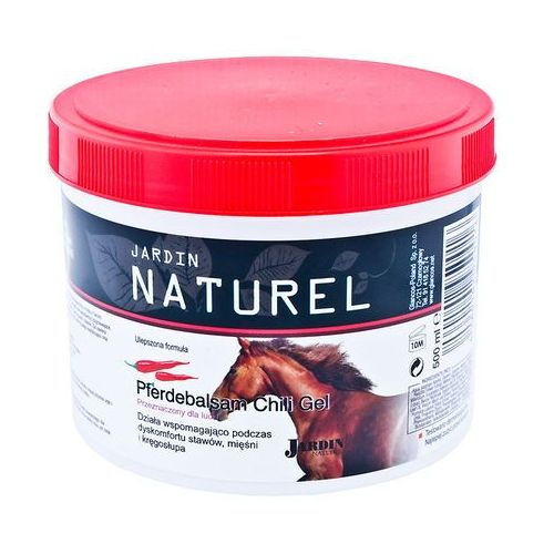 Żel koński rozgzrewający z ekstratem z chili 500ml (4260102950016)