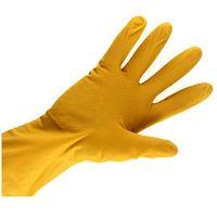 Rękawice gumowe żółte M Bratek/Kuchcik