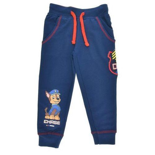 Spodnie dresowe dla dzieci psi patrol granatowe - granatowy marki Licencja - inne