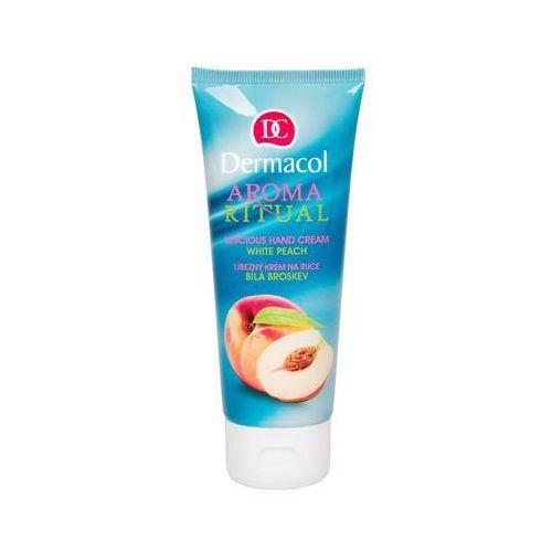 Dermacol Aroma Ritual White Peach krem do rąk 100 ml dla kobiet, 96863 - Najtaniej w sieci