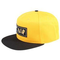 Nike sportswear czapka z daszkiem 'nike air pro' złoty / czarny