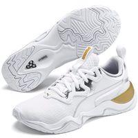 Puma Damskie obuwie do biegania Zone XT Metal 19303201 40,5 białe