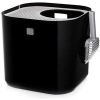 Modkat kuweta dla kota, czarna - dł. x szer. x wys. 40 x 40 x 38 cm | dostawa gratis!